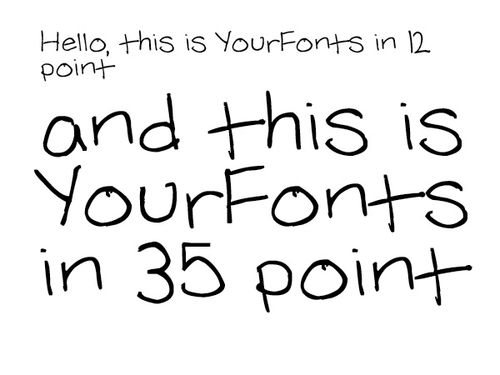 Yourfont
